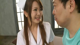 Collection of the best porn videos of Japanese nurse Lomon Momose