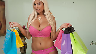 Bridgette B. buys undergarments prevalent get fucked in by her Make more attractive Daddy