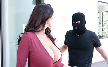 Premium mature severe fucked by masked distance from